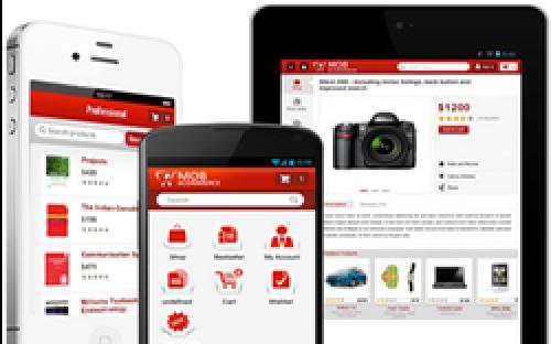 اپلیکیشن موبایل برای مجنتو