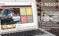 قالب فارسی Industrix برای جوملا